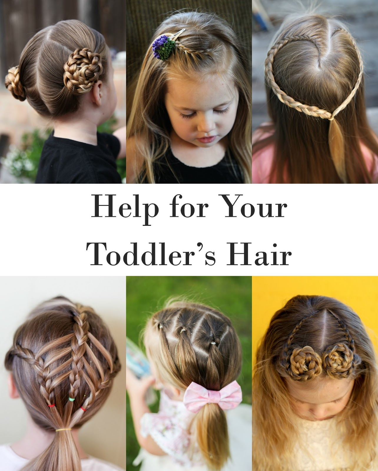 Help For Your Toddlers Hair